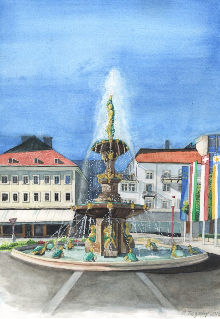 Fontaine La Chaux-de-Fonds