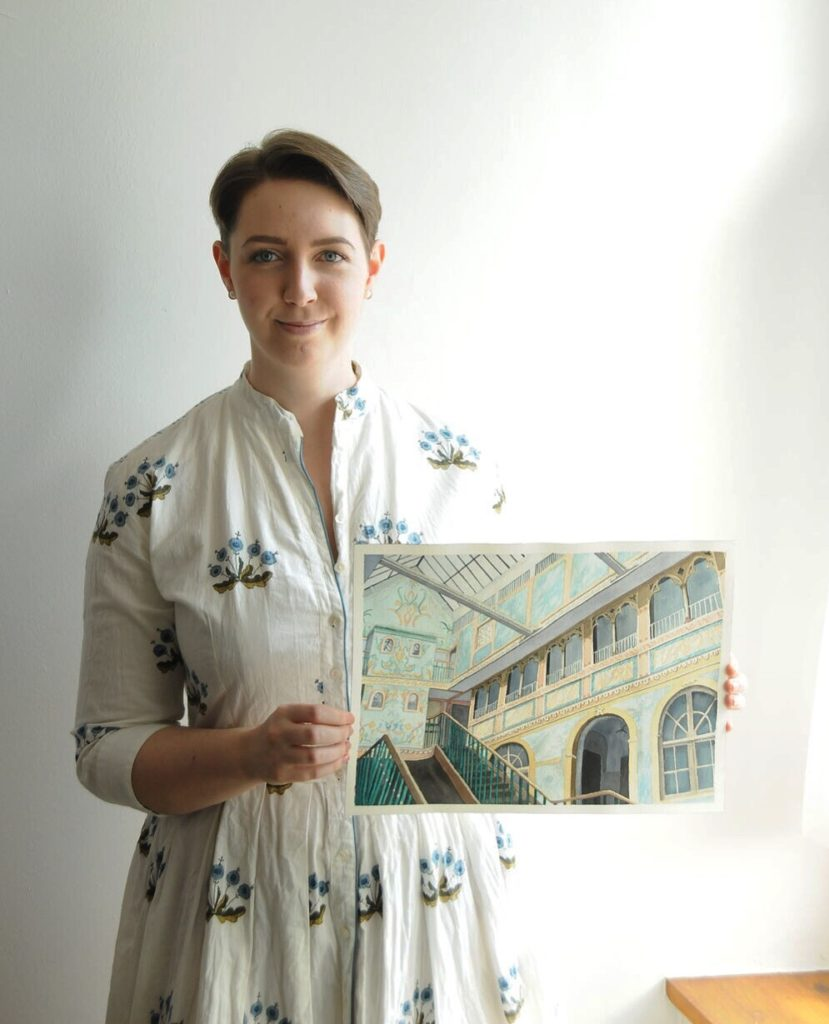 Photograph of the artist
